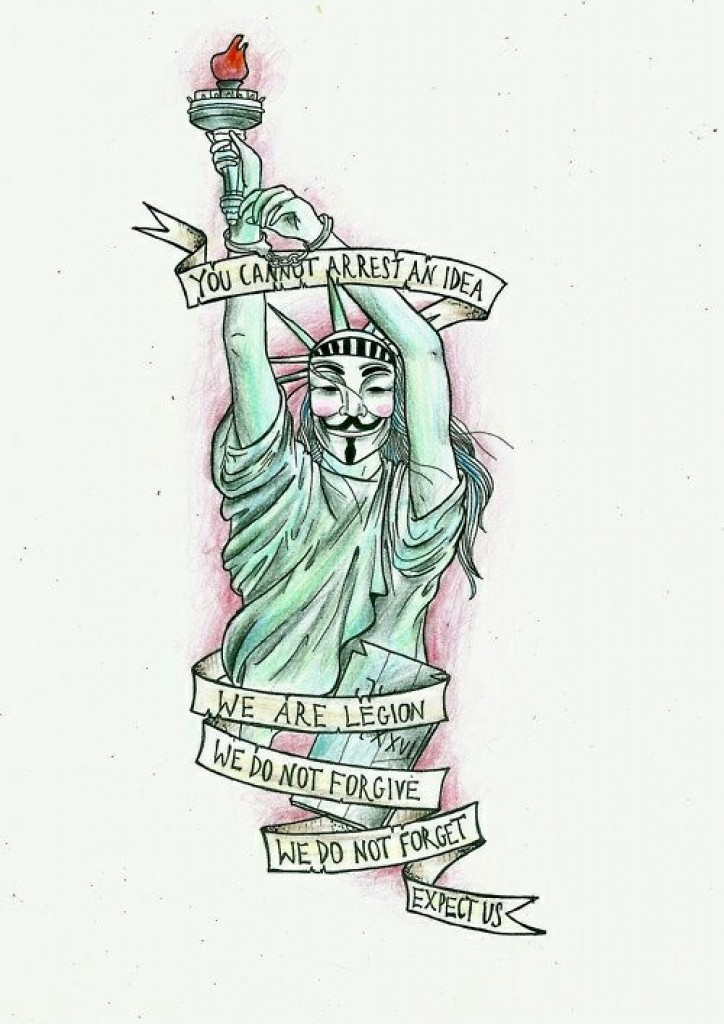 v for vendetta quote  ideas are bulletproof  ink